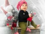 Joulukorttikuvaus | Lapsikuvaus | Valokuvaaja Noora Slotte | Studio P.S.V. | Oulu