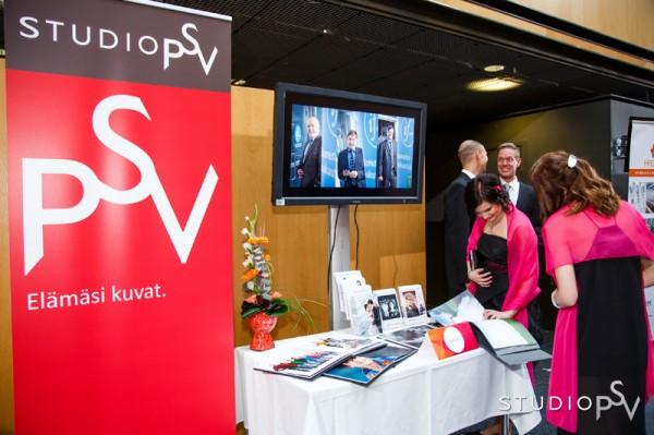 Studio P.S.V. oli yksi tapahtuman näytteilleasettajista. Tapahtumakuvaus Niko Raappana / Studio P.S.V.