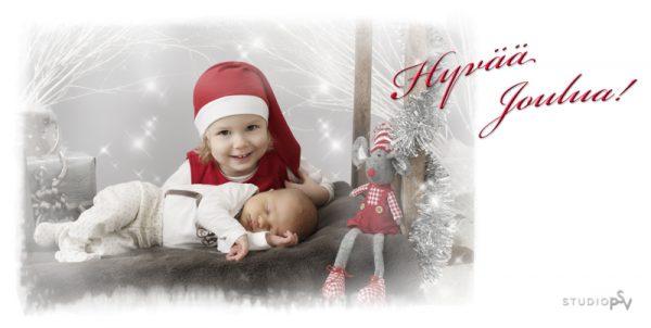 Studio P.S.V:n joulukorttikuvausten varaus on alkanut. Kuva Noora Slotte, Studio P.S.V.