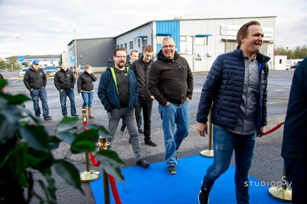 Haanpään tiedostustilaisuuteen tulleet kutsuvieraat eivät osanneet aavistaa, mitä on tulossa. Valokuvaaja Niko Raappana, Studio P.S.V.