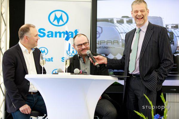 Televisiosta tuttu toimittaja Roman Schatz juonsi brändijuhlan. Valokuvaaja Niko Raappana, Studio P.S.V.